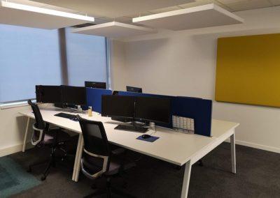 Aménagement de bureaux de l'entreprise Prios