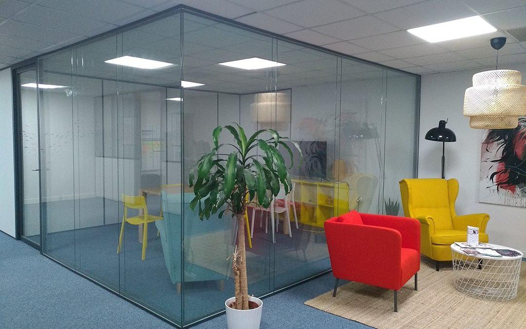 Aménagement espace de coworking