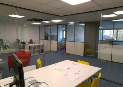 Aménagement d'un espace de coworking