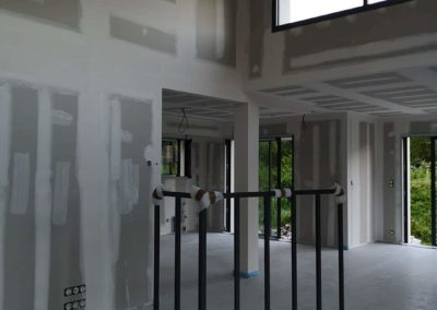 Réalisation sur-mesure d'une verrière atelier